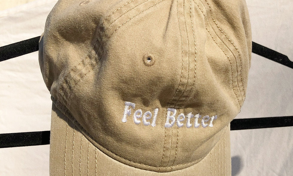 'Feel Better' Dad Hat