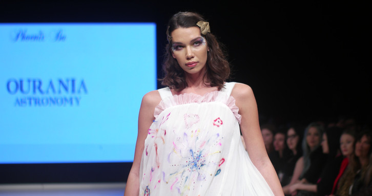 """Look 5: """"Ourania"""" (Astronomy)"""