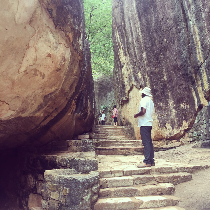 Hiking Sigiriya