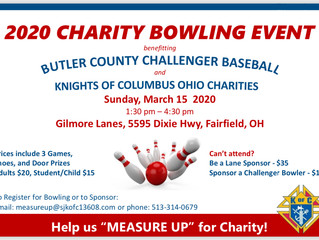 2020 Charity Bowling Event