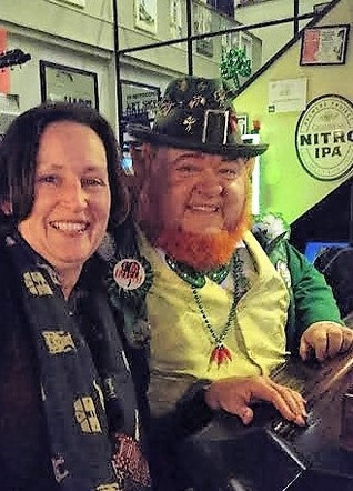 Upstaged by a Leprechaun...
