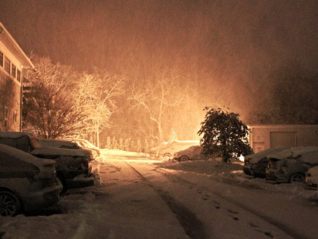 It's Snowing... Again