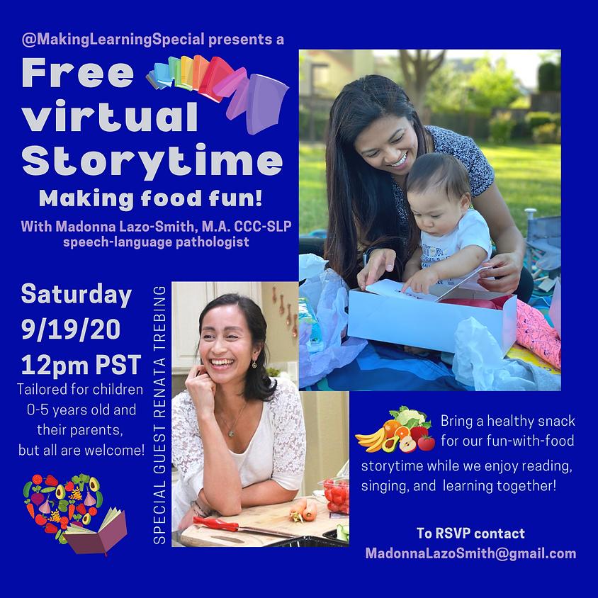 September's Free Virtual Storytime