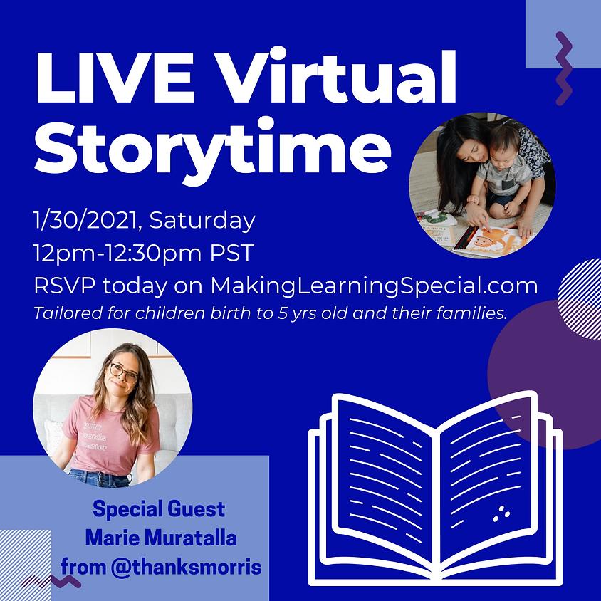 January's Free Virtual Storytime