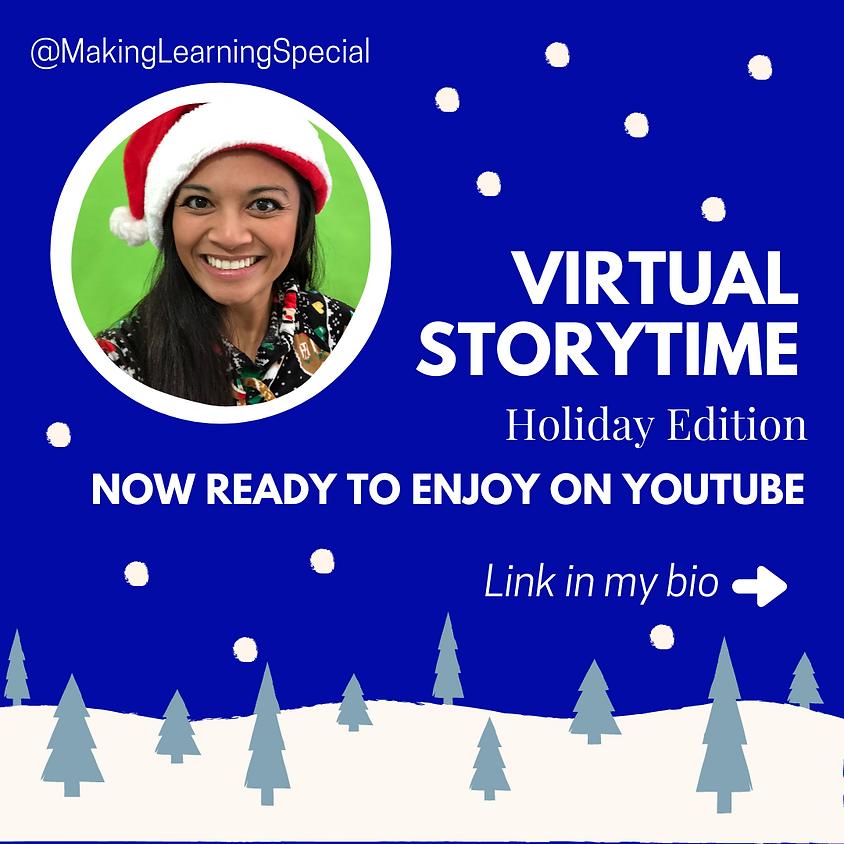 December's Free Virtual Storytime