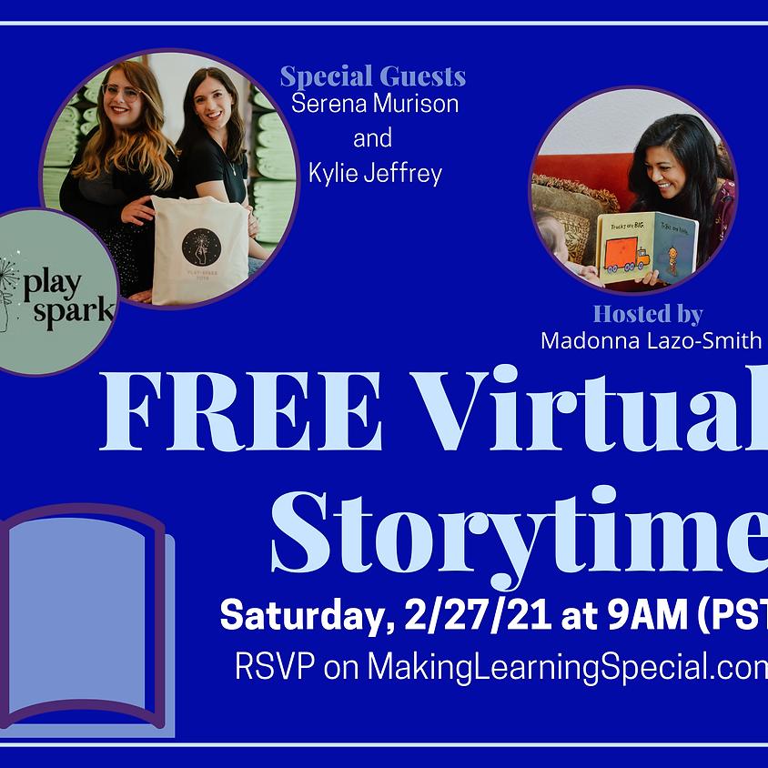 February's Free Virtual Storytime