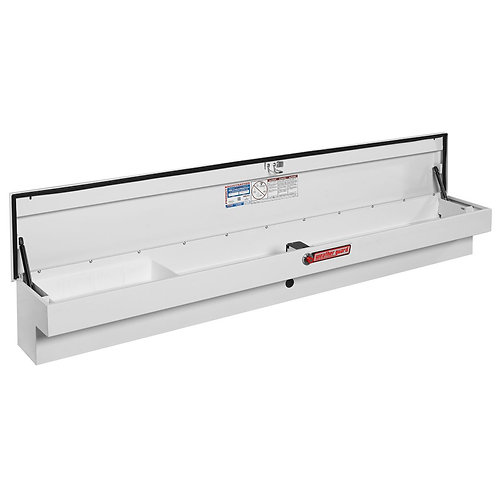 Weather Guard White Steel Low-Side Box #165-3-01