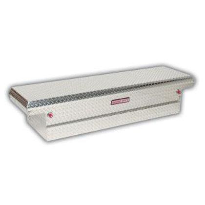 Weather Gaurd Aluminum Low-Profile Saddle Box #121-0-01