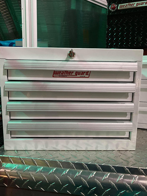 Weather Guard #9914-3-02 Steel Gloss White 4 Drawer