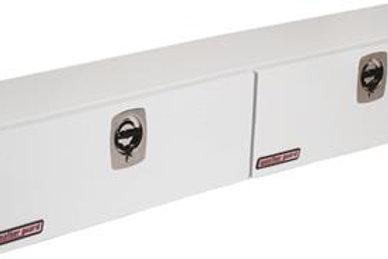 Weather Guard White Steel Hi-Side Box #290-3-01