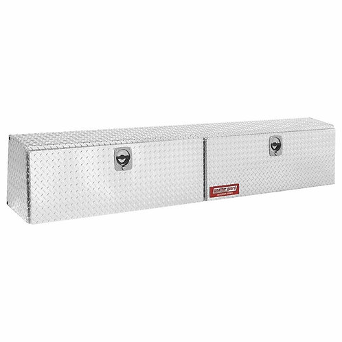 Weather Guard Defender Series Aluminum Hi-Side Saddle Box #300303-9-01