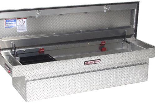 Weather Guard Compact Standard Aluminum Saddle Box #154-0-01