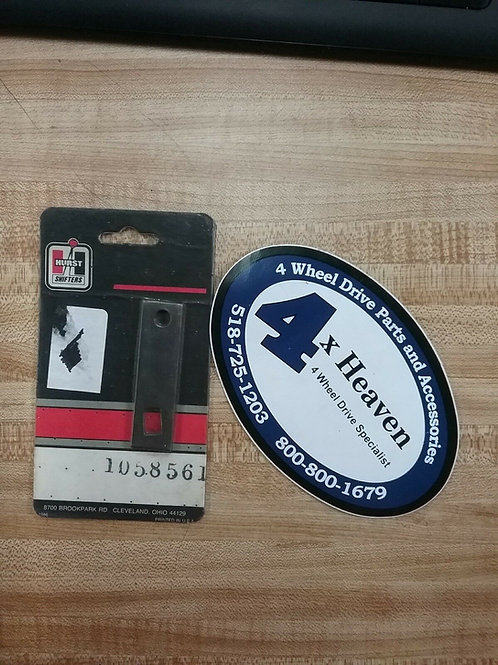 Hurst #1058561 Transmission Lever (STEEL) BUICK, CHEVY, OLDSMOBILE & PONTIAC