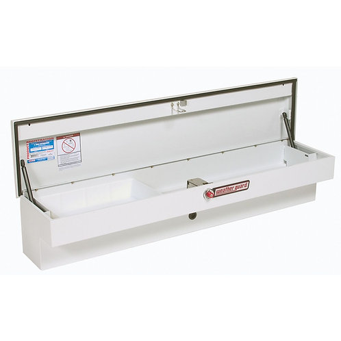 Weather Guard White Steel Low-Side Box #175-3-01