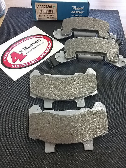 PGD289 RAYBESTOS BRAKE PADS- FITS 1982-1990 BUICK, PONTIAC, CADI, OLDS, CHEVY