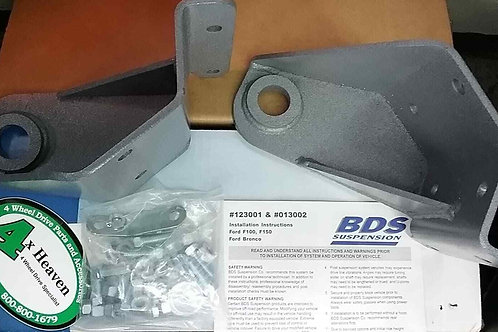 BDS 013202 Track Bar Reloc. & Radius Drop Kit '73-'79 Ford F-100, F-150, Bronco