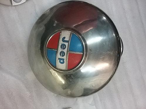 Jeep Hub Cap Dog Dish Style  (used )