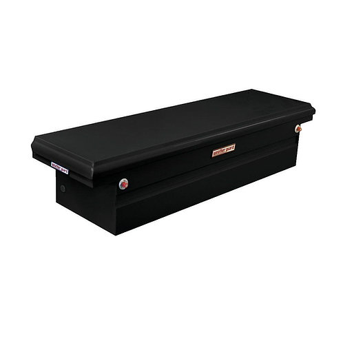 Weather Guard Low-Profile Black Steel Saddle Box #120-5-01