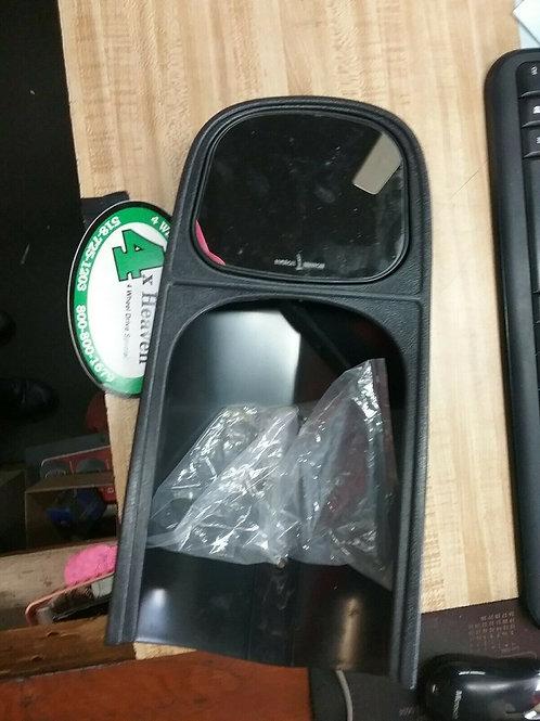 """CIPA #10300 Exterior Towing Mirror, Slide On 4.5""""X5 5/8"""" Mirror. Non..."""