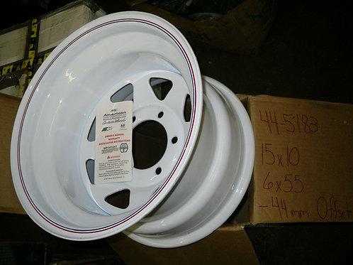American Racing Wheel #44-5183 15x10 6X5.5