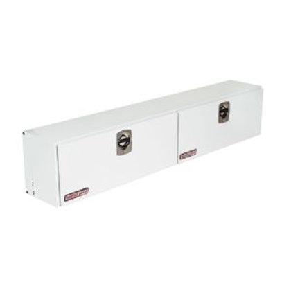 Weather Guard White Steel Super Side Box #291-3-02