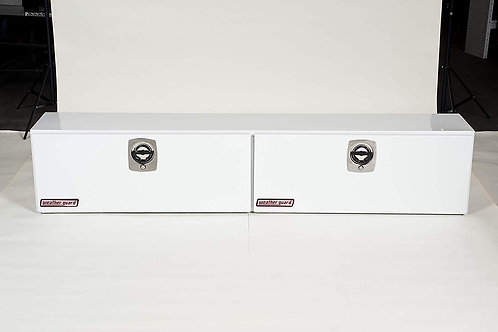 Weather Guard White Steel Hi-Side Box #290-3-02