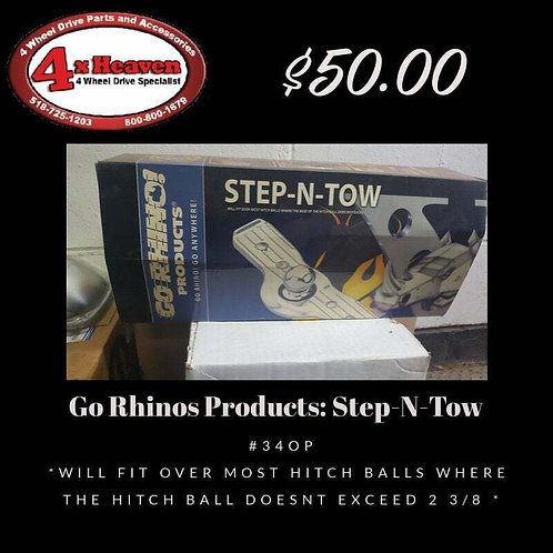 Trailer Hitch Step Go Rhino 340P