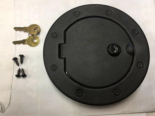 Locking Gas Door 11229.06 for 2007-2018 Wrangler JK