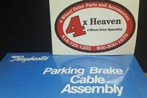 Parking Brake Cable Raybestos BC95763 fits 98-02 VW Jetta, Beetle, Passat