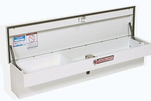 Weather Guard White Steel Super Low-Side Box #`186-3-01