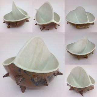 Stoneware ornamental bowls (25cm wide) £60 each Irek Gajowniczek 07986609977