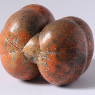 Terra sigillata smoked fired sculptural object (About 15cm wide) £50 Irek Gajowniczek 07986609977