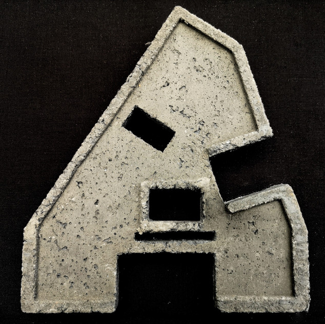LCC Floorplate Concrete 25cm x 30cm x 1cm NFS
