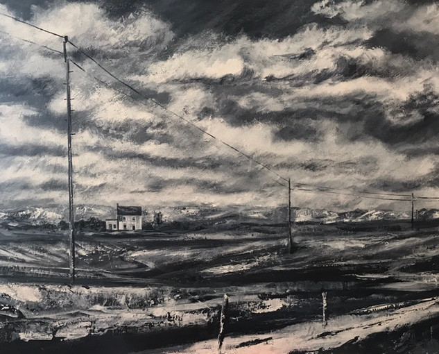 Connecting Lines Lynsey Storer   70 x 100 cm  Acrylic on canvas  £950