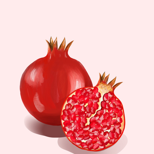 Pomegranate A3 print on superior matte paper. £25 Printing options available.