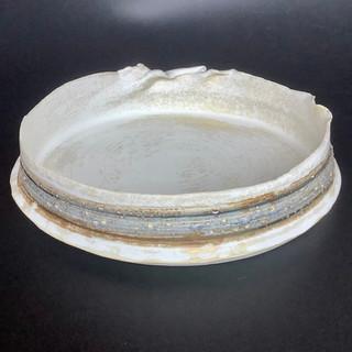 Gioilla Zordan thrown porcelain bowl 22x4 £50