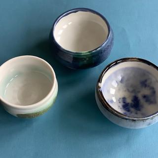 Gioilla Zordan Porcelain small wheelthrown bowls  £ 25