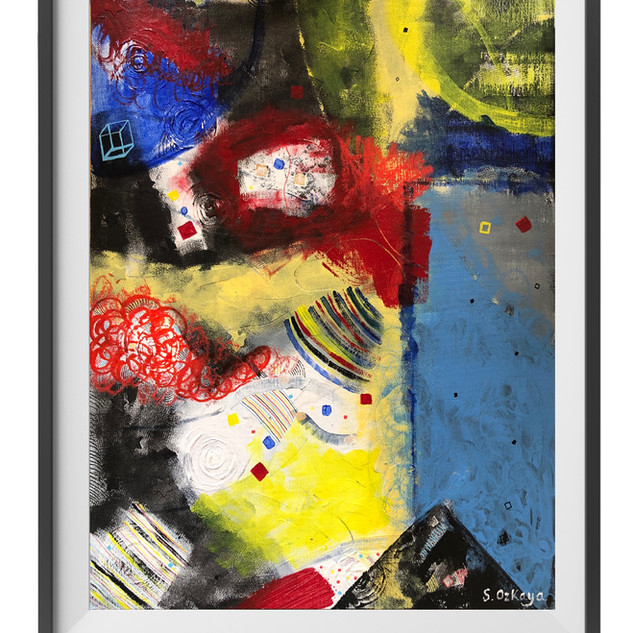 Title: Prime Acrylic on Canvas board Unframed 50cm x 30cm £95.00