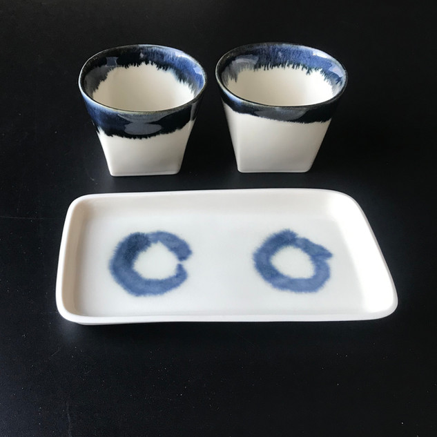 Tipple for Two Porcelain, 3 piece set, £29 Please email or text Siglint Kessler 07730871780