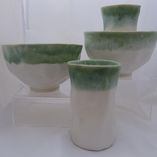 Bowl and beaker