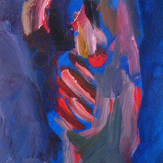 Figure Acrylic on Paper