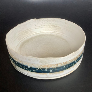 Gioilla Zordan thrown porcelain, 17x6 £ 47