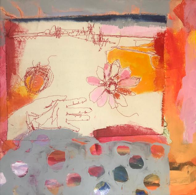 Abstract Acrylic on canvas, £320
