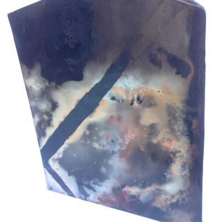 Terra sigillata smoked fired vase (About 30cm high) £70 Irek Gajowniczek 07986609977
