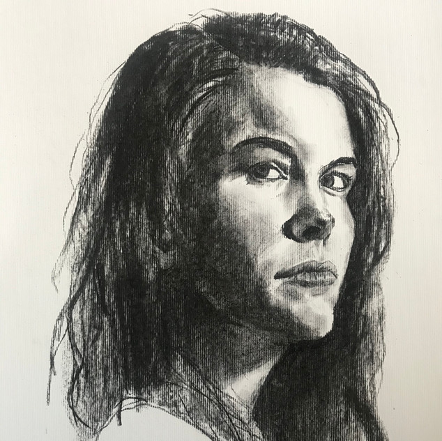 Your portrait from photograph available Charcoal on paper, 48x34cm, unframed £120 Please email or text Siglint Kessler 07730871780