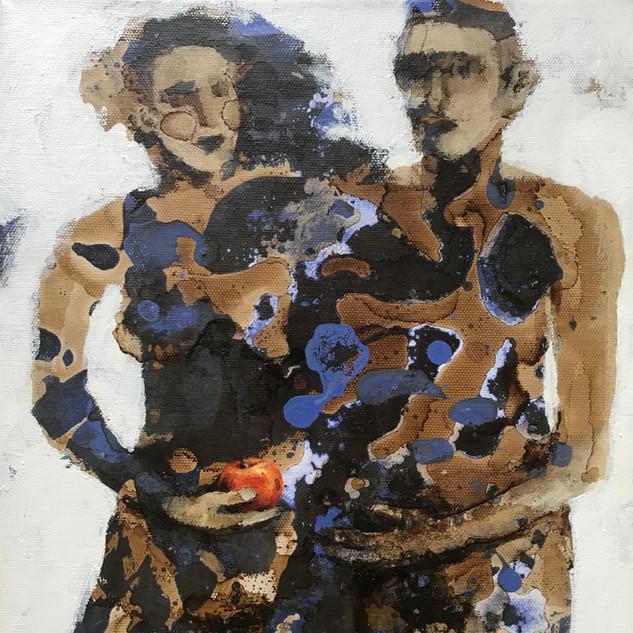 Adam & Eve Acrylic and wood dye, £190