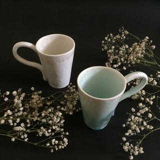 flower mug cups porcelain mug with flower patterns