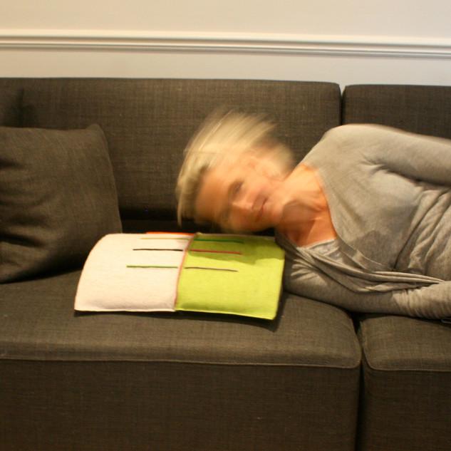 Fold It cushion Wool felt