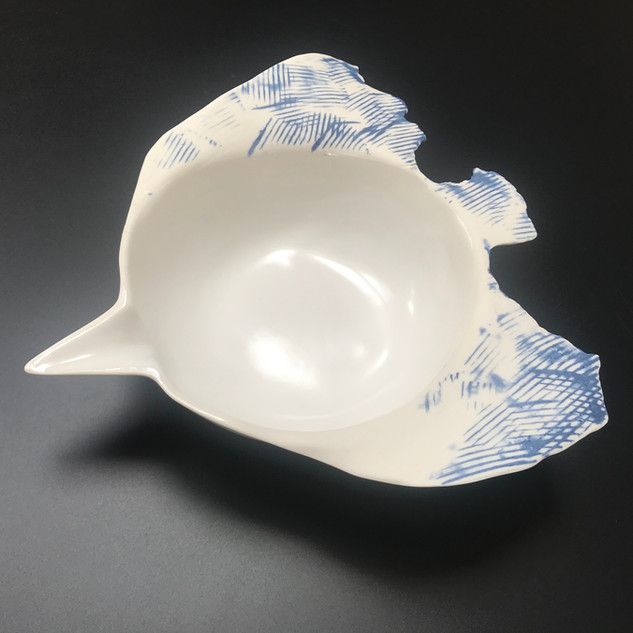 Bird bowl Porcelain, £50 Please email or text Siglint Kessler 07730871780