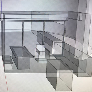 Study using SketchUp program